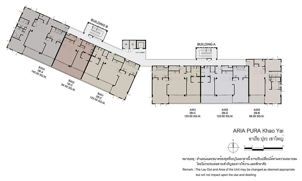 Aria Pura - 4th Floor Plan