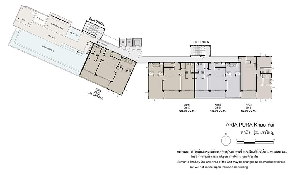 Aria Pura - 5th Floor Plan